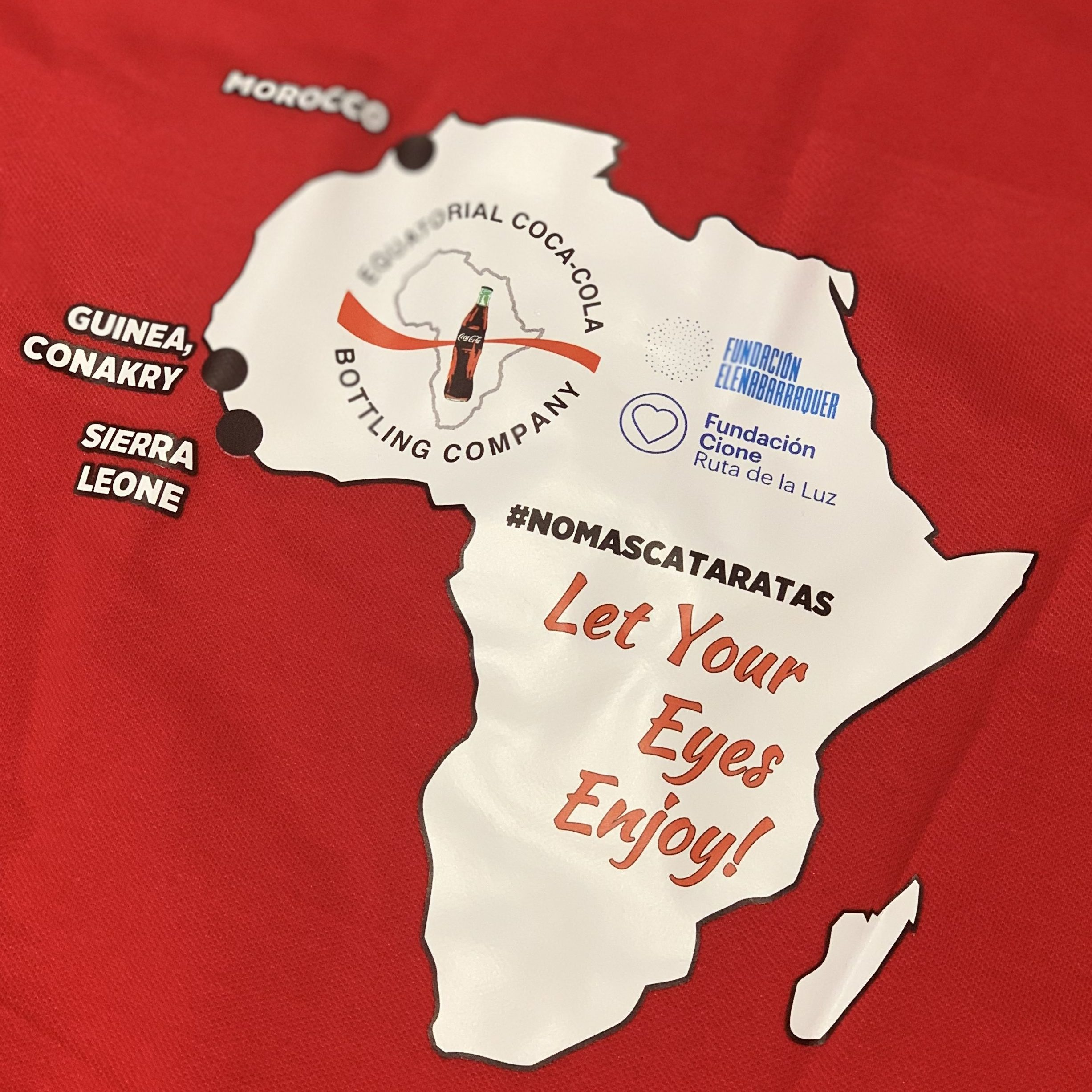 One more year we resume our collaboration with Equatorial Coca-Cola Bottling Company