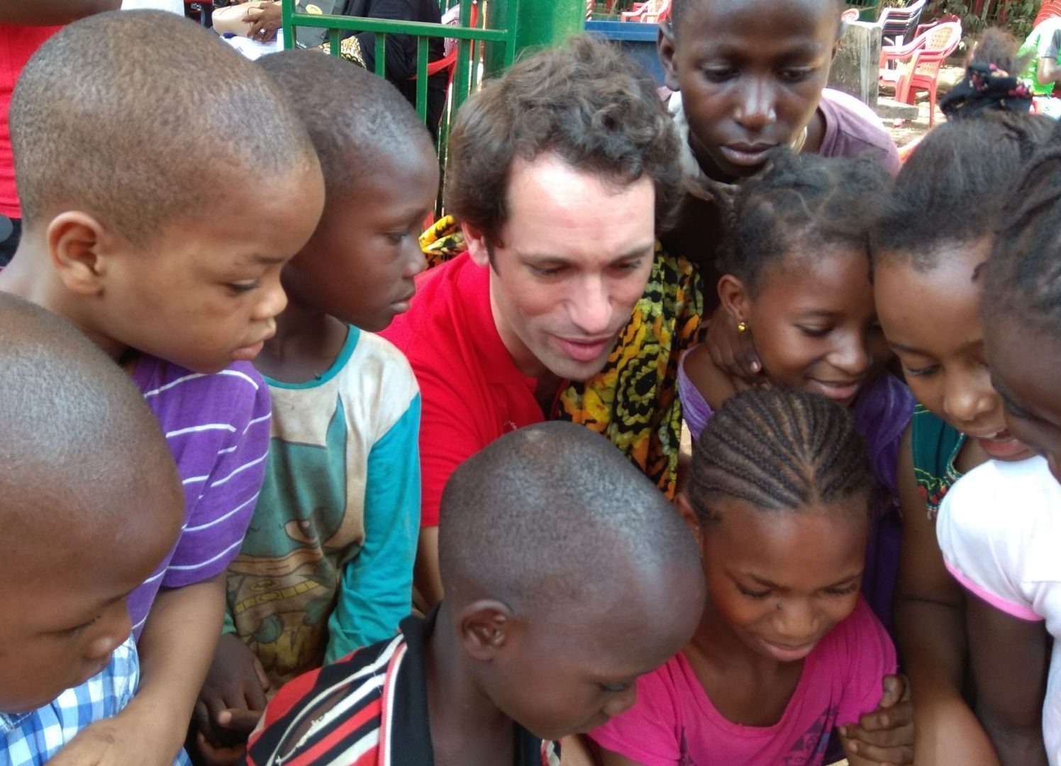 Guinea Conakry, a magnificent team of volunteers